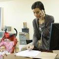 Small maman au travail