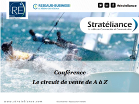 Big strateliance business prospection commerciale formation