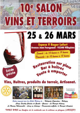Big affiche 2017 vins terroir villepinte salon