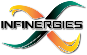 Big infinergies logo ombre