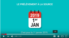 Big impots prelevement a la source 2019