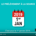 Small impots prelevement a la source 2019