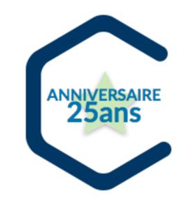 Big logo 25 ans roissy entreprises
