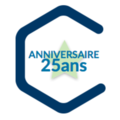 Small logo 25 ans roissy entreprises