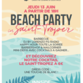 Small flyer beach party