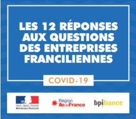 Big coronavirus 010420 entreprises franciliennes