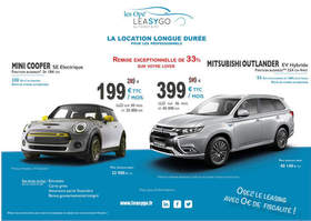 Big offre leasygo mini outlander