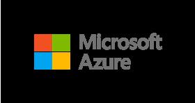 Big microsoft azure logo