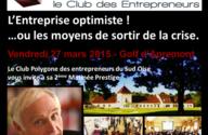 45 Entrepreneurs du Sud de l'Oise vous invitent à voir le verre à moitié plein !