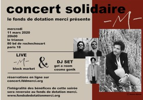Big merci concert solidaire fonds de dotation merci