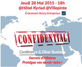 Big image conference secret daffaires 280515roissy