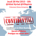 Small image conference secret daffaires 280515roissy
