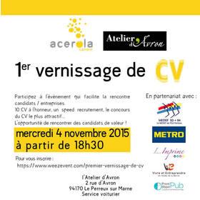 Big invitation vernissage cv