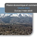 Small mission prospection commerciale iran mars 2016