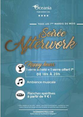 Big afterwork oceania mardi 2017