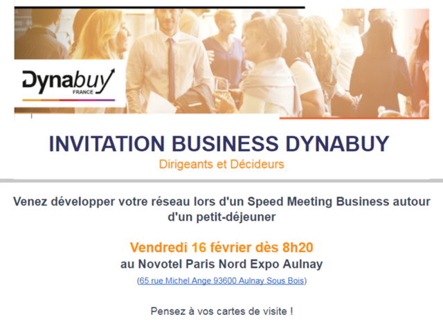 Petit Djeuner Business DYNABUY