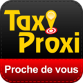 Big untouched logo super taxi proxi