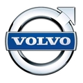 Big untouched logo volvo